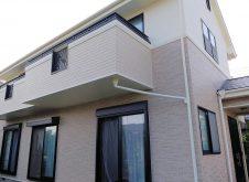 那珂市O様邸 外壁張替、屋根・外壁塗装工事