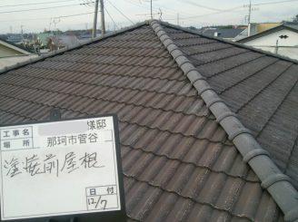 屋根塗装前(洗浄後)